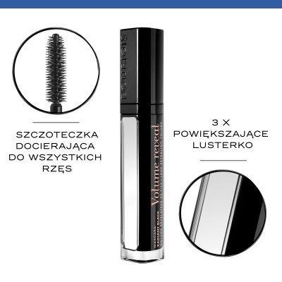 BOURJOIS Tusz Do Rzęs Volume Reveal Radiant Black