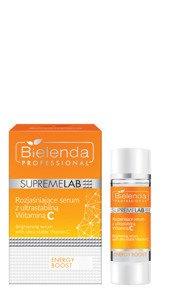 Bielenda Supremelab Energy Boost Serum rozjaśniające skórę z witaminą C 15ml