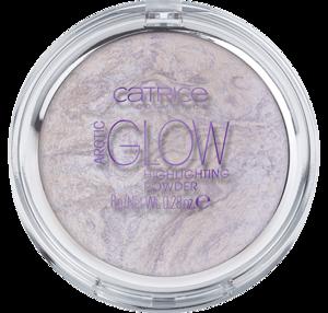CATRICE Puder Rozświetlający Arctic Glow 010 Jupiter's Glow