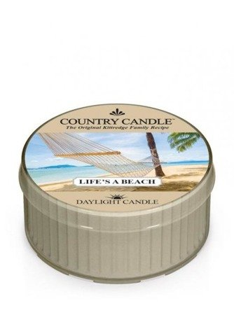 COUNTRY CANDLE Daylight  Life`s A Beach