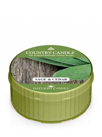 COUNTRY CANDLE Daylight Sage & Cedar