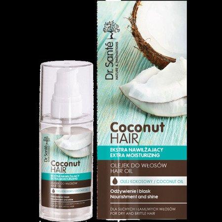 Dr. Sante. Coconut Hair Serum do Włosów z Olejem Kokosowym 50ml