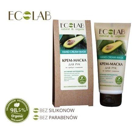 ECO LABORATORIE Krem/Maska do Rąk - Organiczny Olej Avocado 100ml