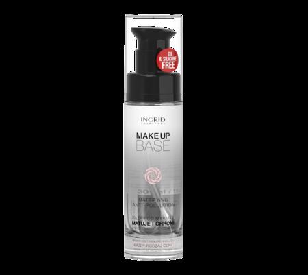 INGRID Make Up Base Baza Pod Makijaż Beztłuszczowa Matująca 30ml