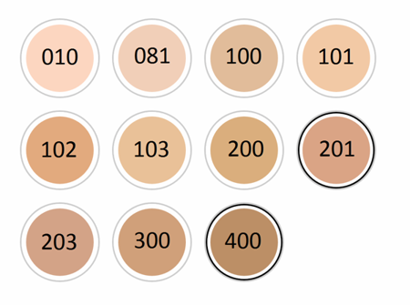 RIMMEL Match Perfect Podkład 102 Light Nude 30ml
